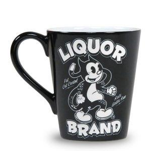 Liquor Brand Mug Fat Cat Coffee cup brand new